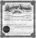 Arch and Alta's Original Marriage Certificate