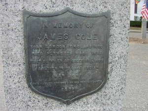 In Memory of James Cole