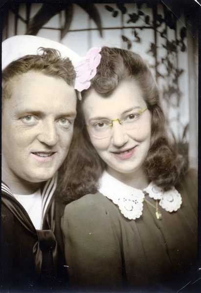 Max and Velma Green, September 1944