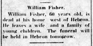 Obituary for William Green Fisher