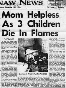 Mom Helpless As 3 Children Die In Flames