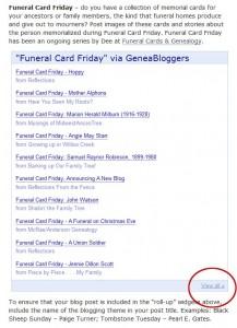 Geneabloggers Prompts