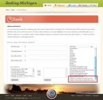 SeekingMichigan.org Advanced Search Fields