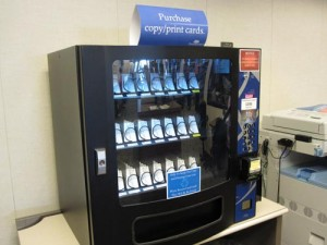 Copy Cards Vending Machine