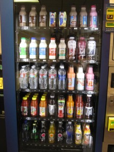 Vending Machines - Milk, Water and Juice