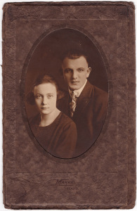 John and Cecelia Gatewood circa 1925